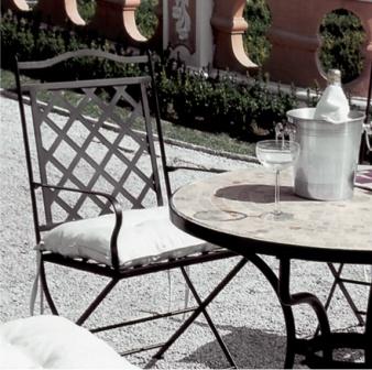 Meuble de jardin en fer forg meubles en fer forg iron art lits chaises tables meubles - Mobilier jardin en fer saint etienne ...