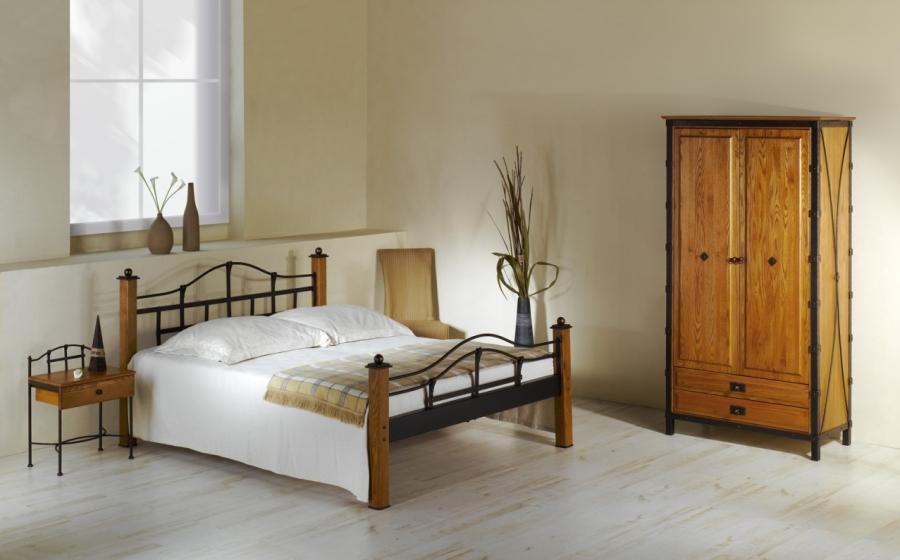 Lit alcatraz lits romantiques iron art - Les lits en fer forge ...