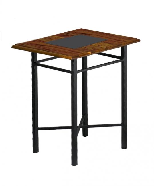 Table de nuit chamonix lits romantiques iron art for Table de nuit romantique