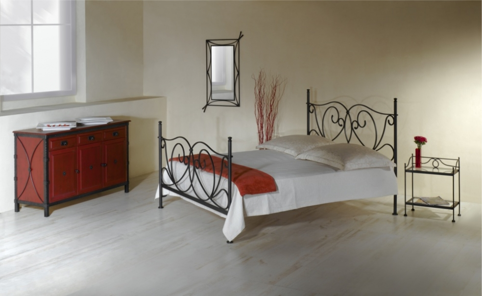 Lit galicia lits romantiques iron art - Lit baldaquin 200x200 ...
