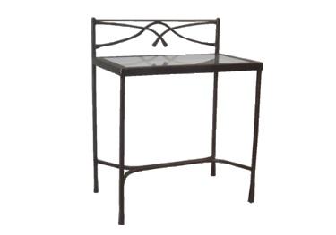 Table de nuit calabria lits romantiques iron art for Table de nuit romantique