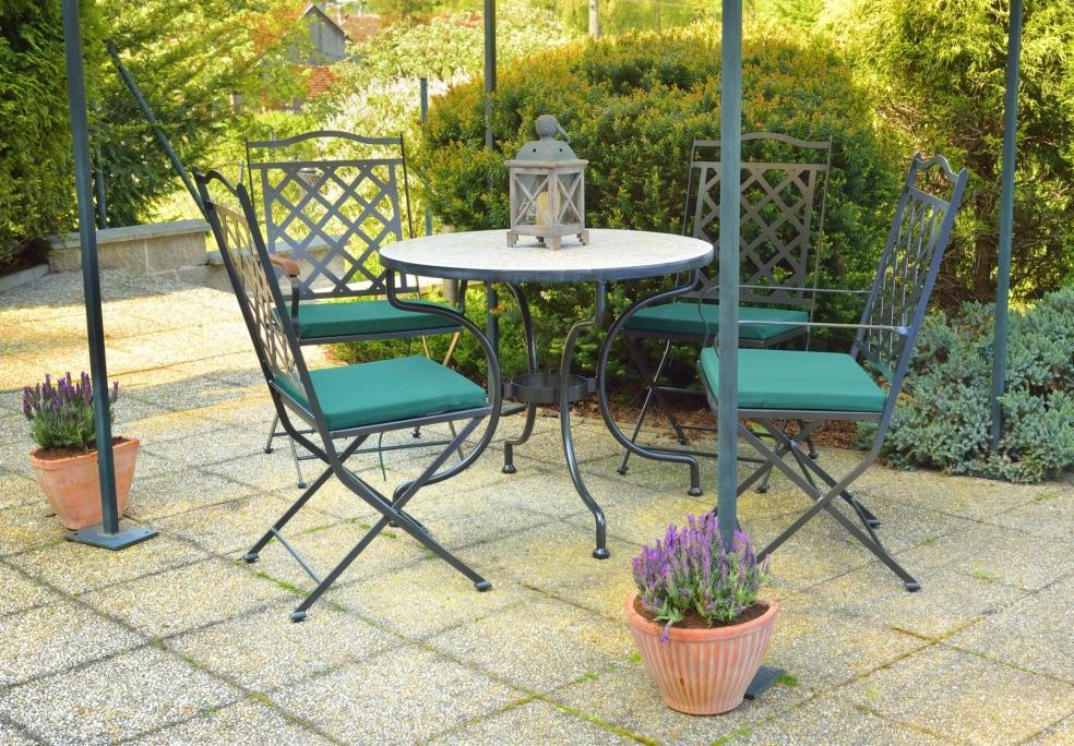 Table de jardin ST. TROPEZ | Lits Romantiques IRON-ART