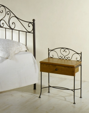 Table de nuit Malaga bois