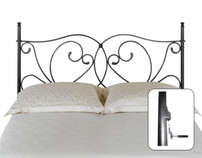 t te de lit galicia lits romantiques iron art. Black Bedroom Furniture Sets. Home Design Ideas