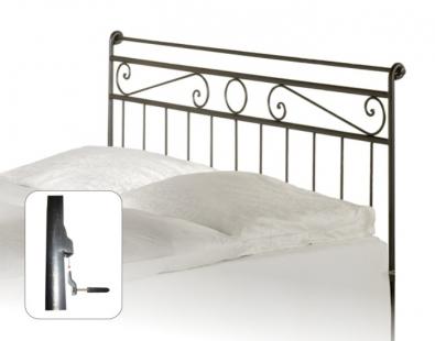 Tête de lit en fer forgé Romantic