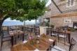 Mobilier en fer pour un restaurant de jardin