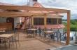 Meuble en fer forgé, Restaurant Salabka