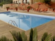 Meuble en fer forgé IRON - ART en hôtel Mas Can Ros, Espagne